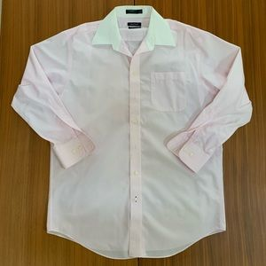 Nautica Premium Non Iron Button Down Dress Shirt